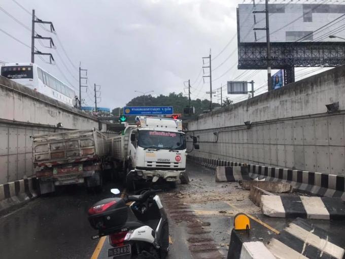 Un camion perd le contrôle dans le tunnel Darasamut – Vidéo