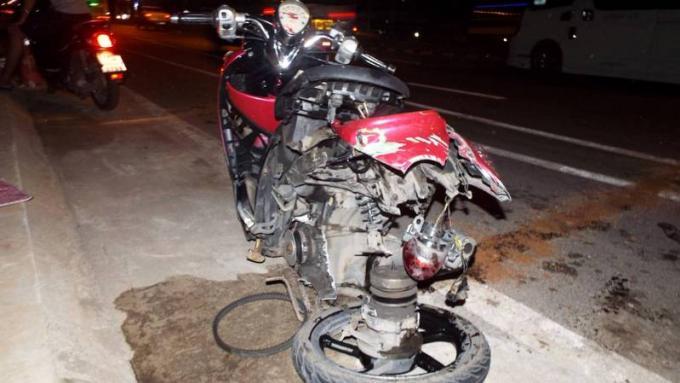 Un motocycliste grièvement blessé après une collision à un U-turn
