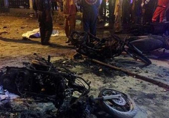 Attentat à la bombe dans une attraction touristique à Bangkok