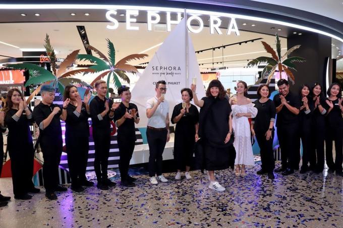 Sephora apporte une nouvelle expérience beauté à Central Phuket
