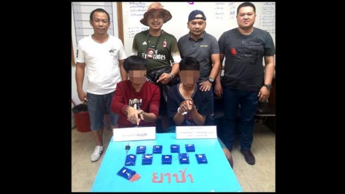Deux hommes arrêtés avec 2,000 cachets de meth à Phuket Town