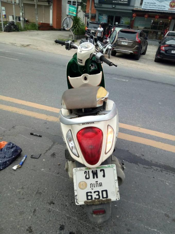Un motocycliste écrasé par une bétonnière à Thalang