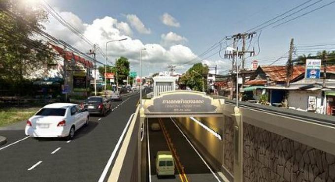 Chalong Underpass devrait commencer en Septembre