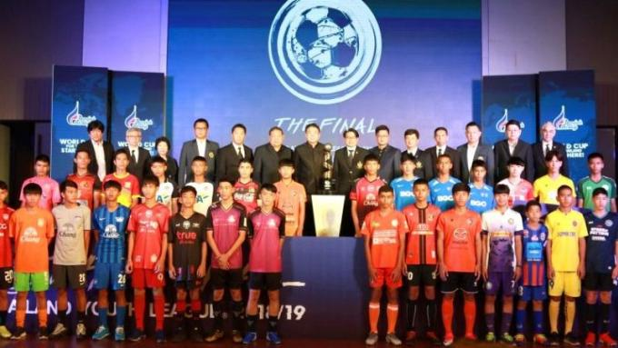 Phuket accueille la 'National Youth Football Champions League'