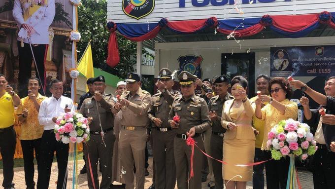 Un nouveau poste mobile de la Police Touristique de Phuket ouvre à Kamala