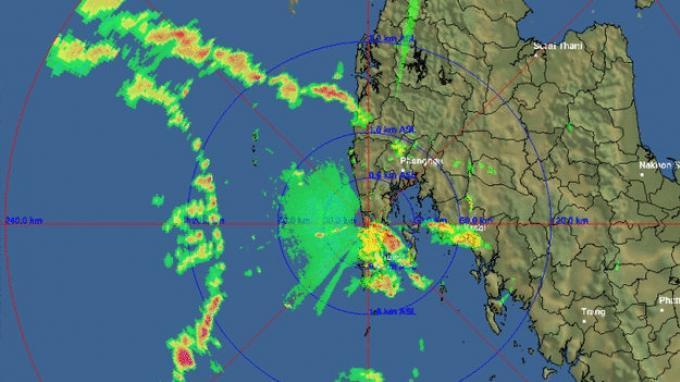 Des fortes précipitations attendues à Phuket