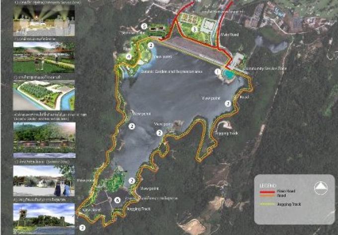 Bang Wad Dam de Phuket, peut être transformé en attraction touristique