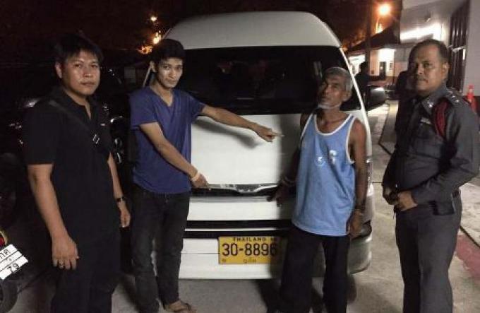 Voleur de van arrêté à Patong