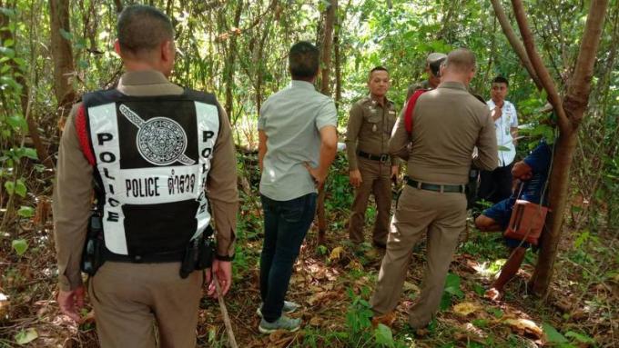 Un squelette découvert près d'une résidence de Phuket