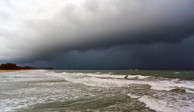 Alerte météo dans le sud et l'est de la Thaïlande