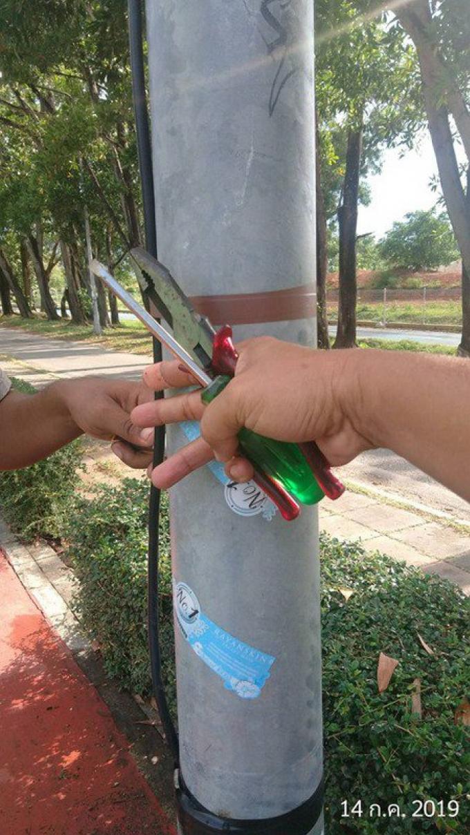 Après l'électrocution d'un étudiant, les officiels déclarent les parcs sûrs
