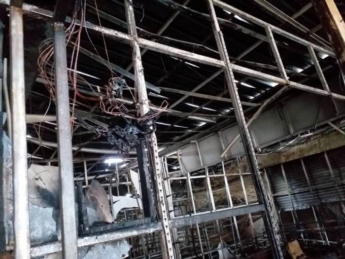 Un incendie détruit 12 magasins de Patong et fait plus de B1 million de dégâts