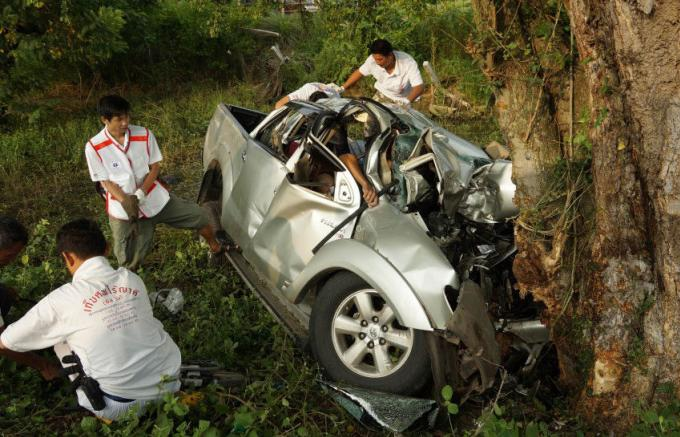 Les accidents de la route restent la plus importante cause de mortalité en Thaïlande