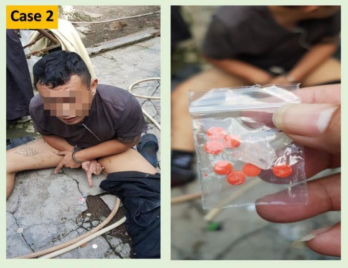 Neuf suspects arrêté en possession de drogues et d'armes à feu
