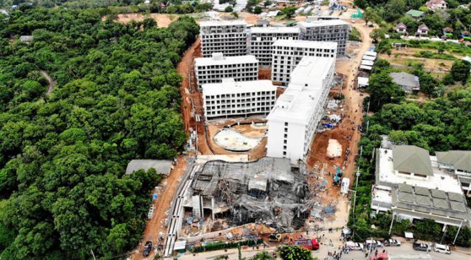 Des compensations versées aux victimes de l'effondrement du site de construction du VIP Condo