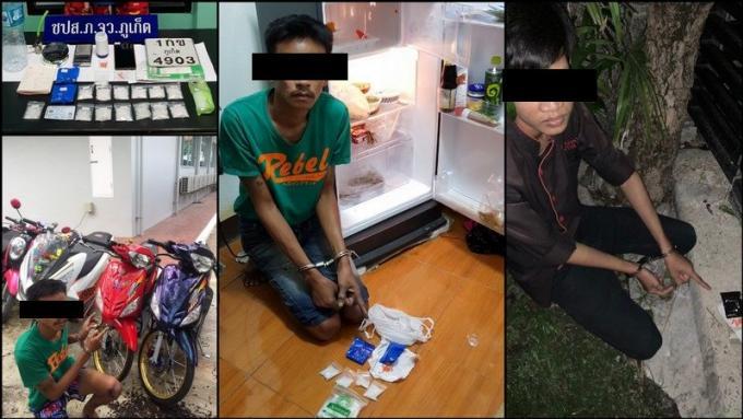 Deux hommes arrêtés pour trafic de drogue