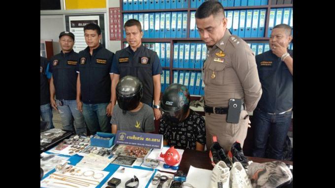 Un couple arrêté pour une série de cambriolages, la police récupère B600.000