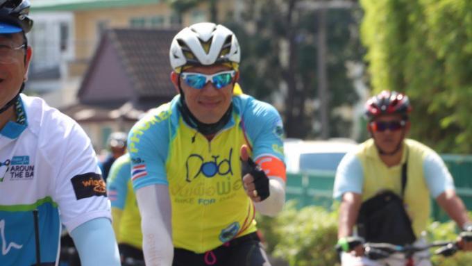 Les officiels préparent l'évènement cycliste 'Bike Un Ai Rak'