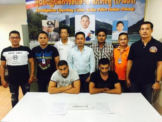 2 turcs arrêté à Koh Samui pour vol dans un hôtel de Phuket