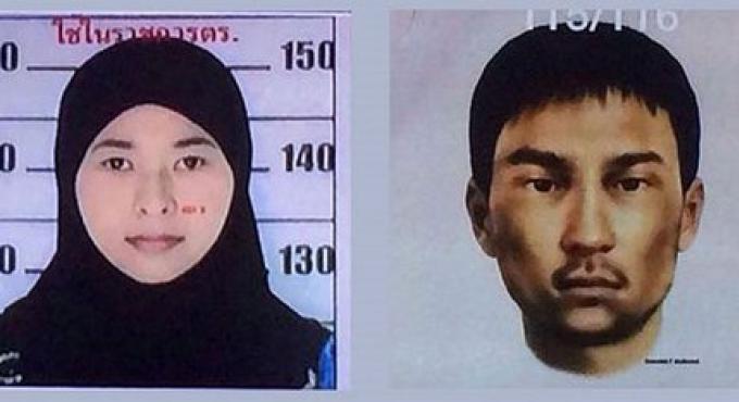 Les images diffusées par la policepour des deux nouveaux suspects de la bombe