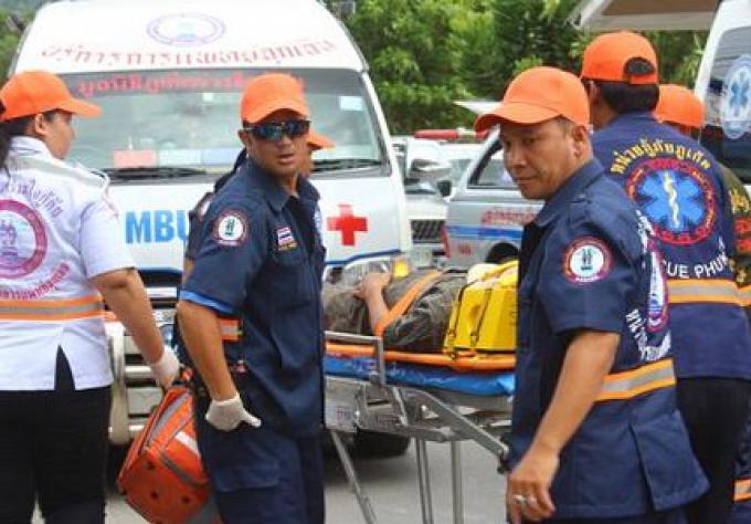 Exercice en cas de Tsunami à Phuket Town ce week-end