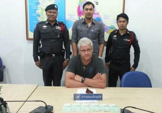 Un touriste français arrêté à Phuket pour avoir voulu échanger de l'argent avec des faux billet