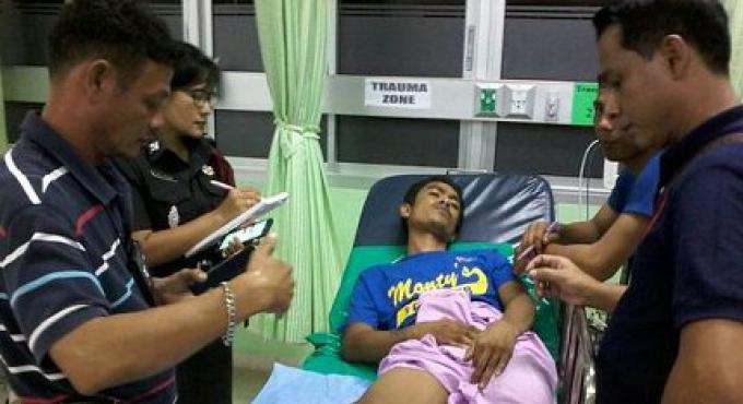 Deux hommes recherchés pour tir sur une personne à Phuket