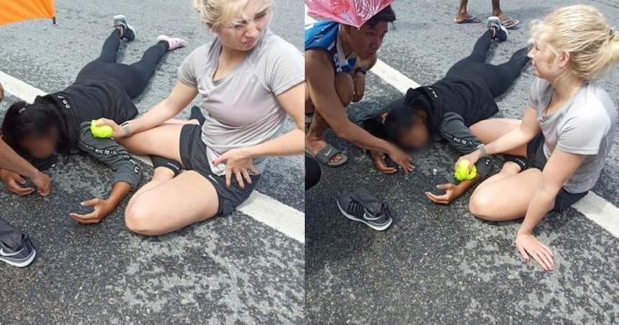 Les internautes saluent les locaux et les touristes qui ont aidé les victimes de l'accident