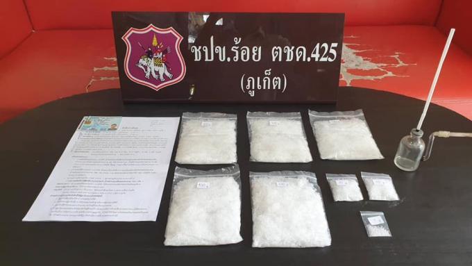 Un dealer arrêté à Chalong avec un demi kilo de ice
