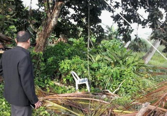 Un homme thailandais retrouvé pendu, la cause peut être une dispute avec sa petite amie