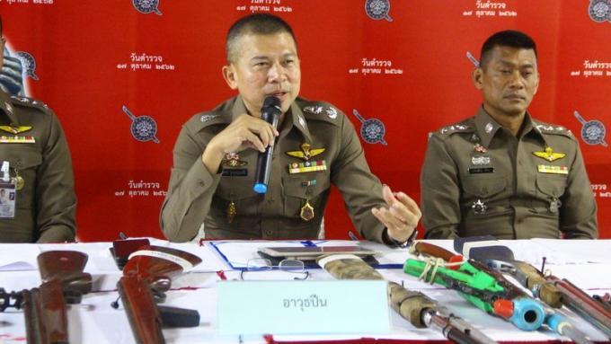 Le chef de la police de Phuket fait le bilan de la campagne anti criminalité pre-Loy Krathong