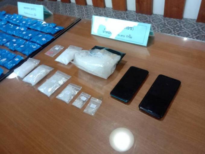 Un suspect arrêté avec 20,400 cachets de ya bah et 700g de ice