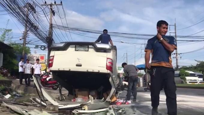 Des touristes turcs blessés dans une collision frontale