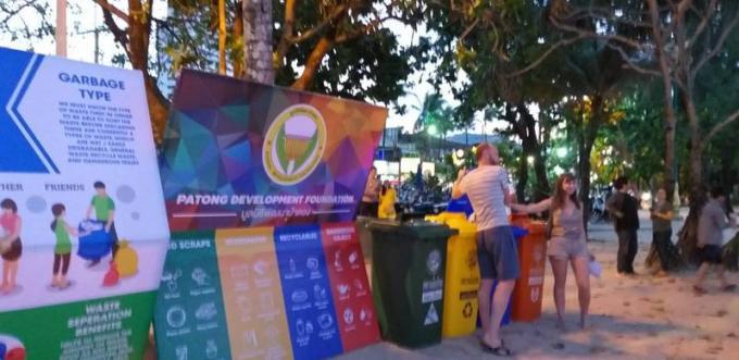 Compte à rebours Patong 2020 : 'Sauver notre Terre – Dire Non au Plastique'