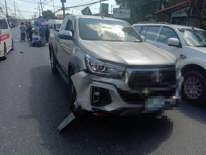 Un vendeur de sticky rice tué en scooter par un conducteur saoul