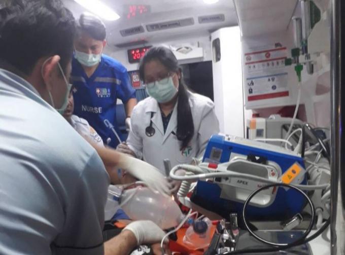 Deux garçons blessés dont un grièvement dans un accident de scooter à Kathu