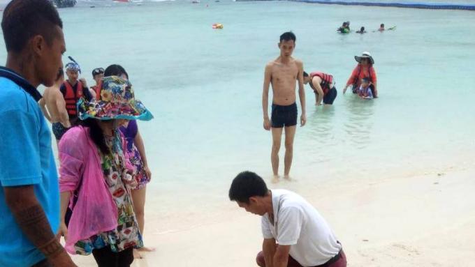 Un touriste chinois meurt pendant une excursion à Coral Island