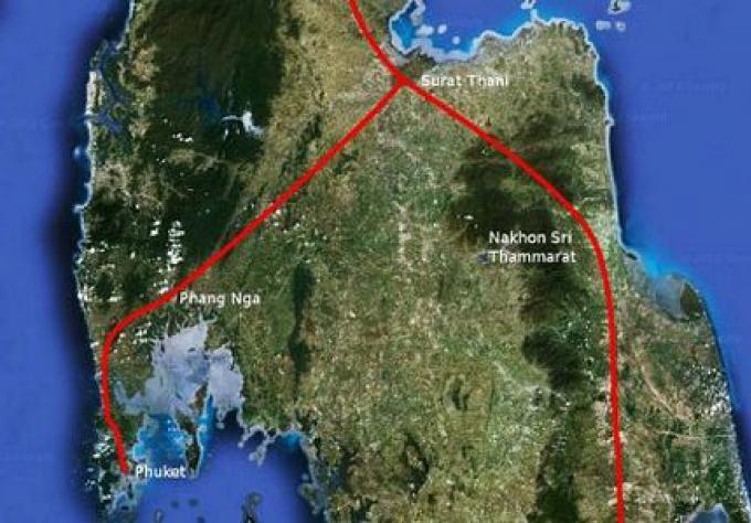 La liaison ferroviaire pour Phuket, Trang, Satun