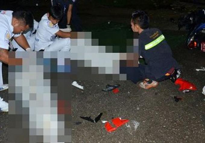 Deux morts, deux blessés dans une collision frontale à Phuket