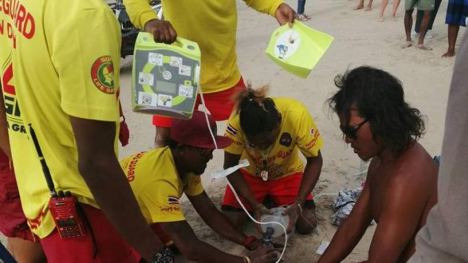 Un français de 75 ans meurt à Patong Beach