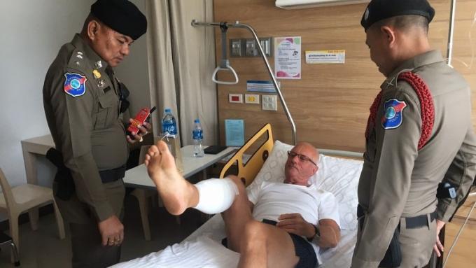 L'allemand mordu par un 'gros poisson' - ou un requin - est sorti de l'hôpital