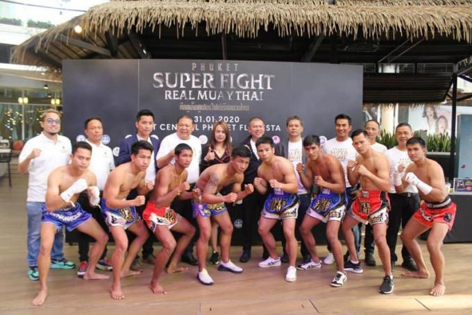 Une nouvelle compétition de Muay Thai à Phuket fin Janvier