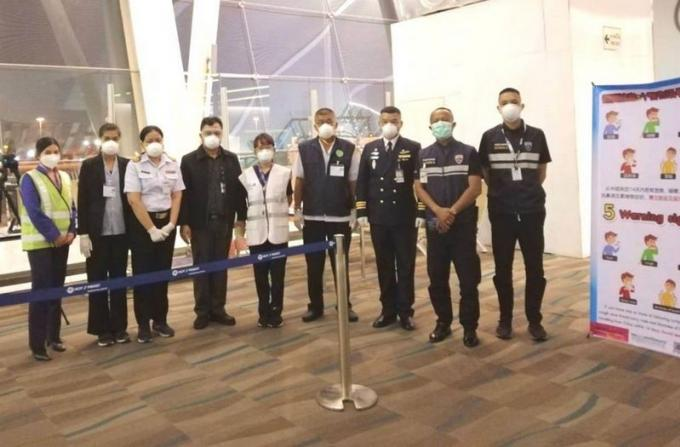 Un chinois de 10 ans soupçonné d'avoir la grippe de Wuhan atterri à Phuket