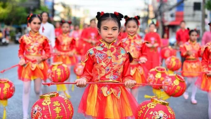 Phuket prête pour le Nouvel An Chinois