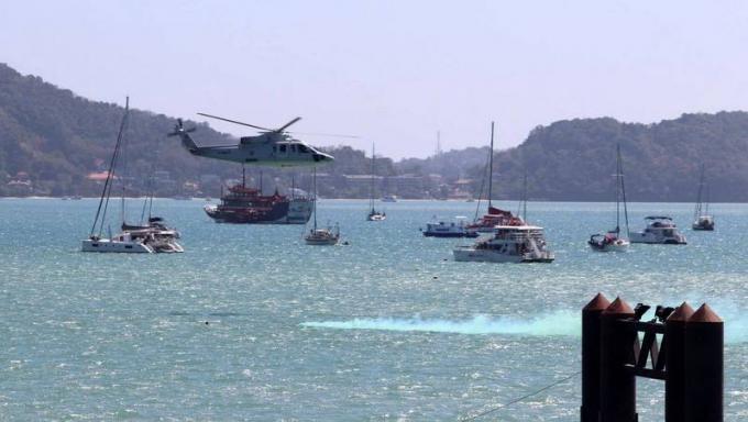 Des experts chinois participent à des exercices de secours en mer à Phuket
