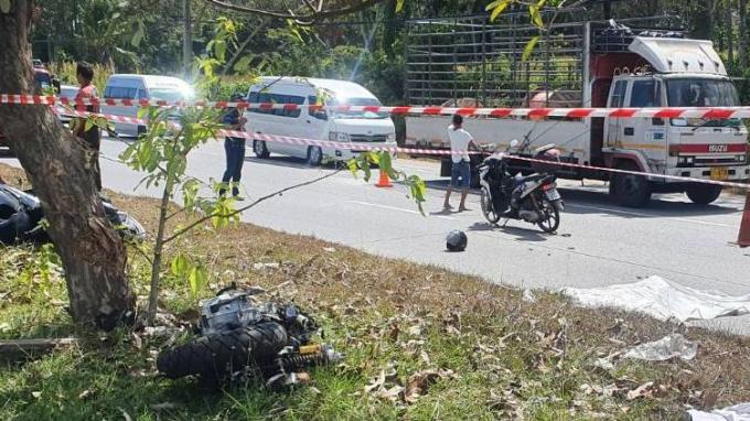 Un couple meurt dans un violent accident de scooter