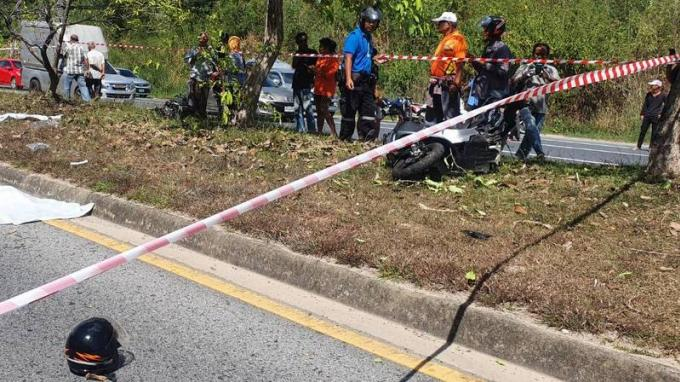 Un couple meurt dans un violent accident de scooter