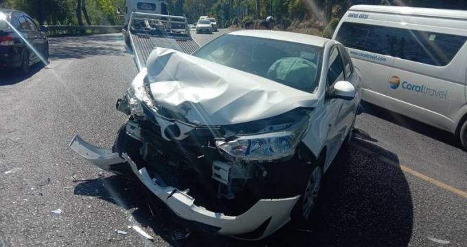 Quatre blessés dans une collision à Patong Hill