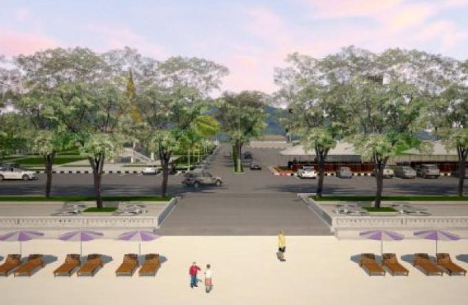 Les officiels dévoilent des plans pour Surin Beach relooké