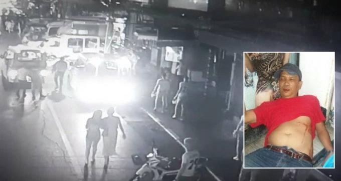 Un chauffeur de moto taxi hospitalisé après une attaque au couteau sur Bangla Road